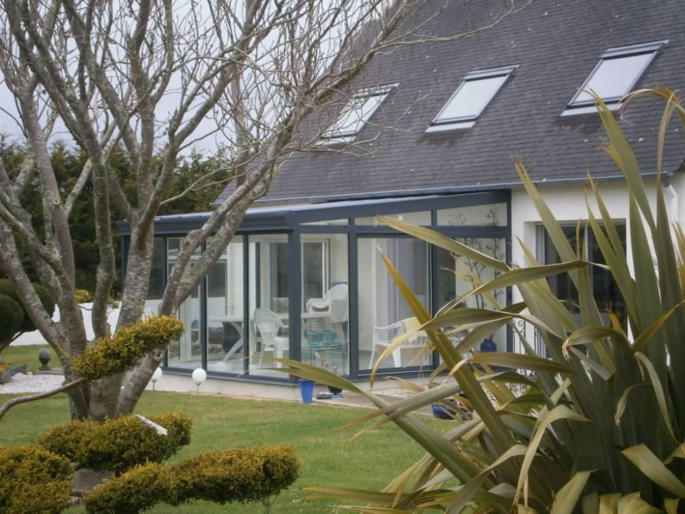 Véranda Jardin d\'hiver Quimper, Finistère 29 - Fabrication ...